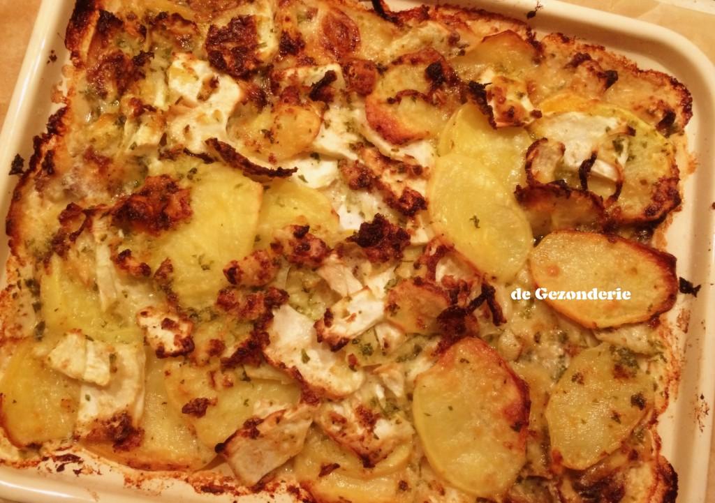 knolselderij-aardappelgratin Jamie & Ingrid