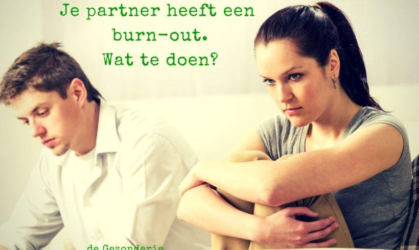 Je partner heeft een burn-out: wat te doen?