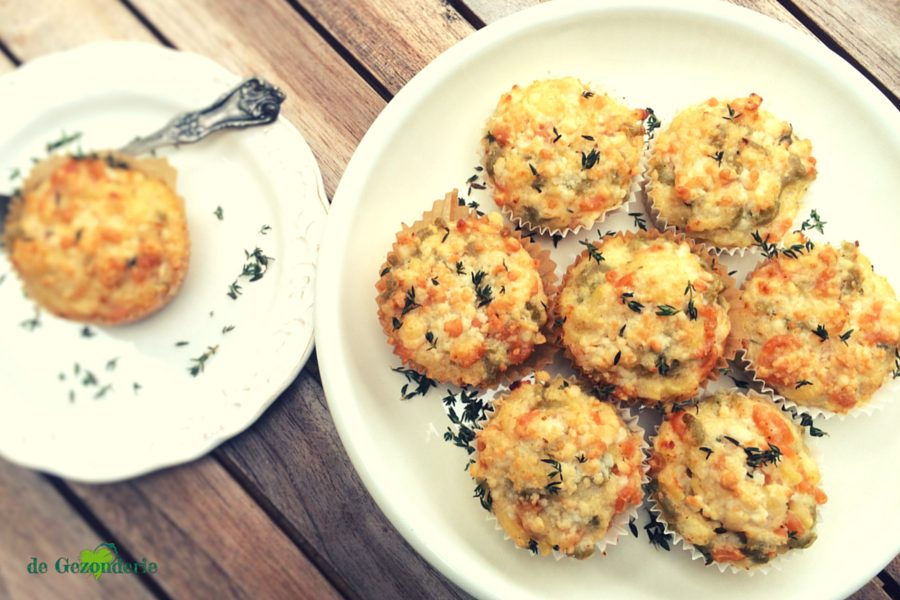 Mac n Cheese Bloemkoolmuffins