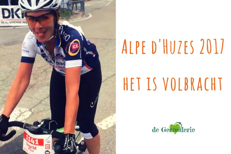 Alpe d'Huzes 2017: het is volbracht